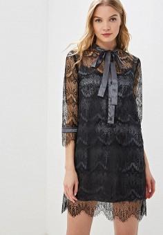 54afb76dbcdb972 Платье, Tutto Bene, цвет: черный. Артикул: TU009EWFBYK1. Одежда / Платья