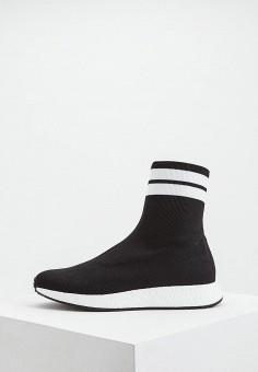 afbe3e61 Кроссовки, Twinset Milano, цвет: черный. Артикул: TW008AWEHTU9. Обувь /  Кроссовки