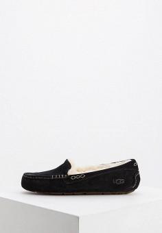 2a1c17824ea6b Мокасины, UGG, цвет: черный. Артикул: UG002AWFQNC0. Premium / Обувь