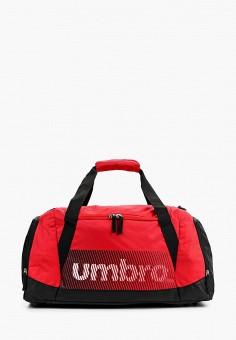 dabba14c161e Сумка спортивная, Umbro, цвет: красный. Артикул: UM463BUSAK59. Аксессуары /  Сумки