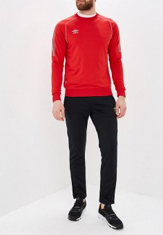 7697d143 Костюм спортивный, Umbro, цвет: красный, черный. Артикул: UM463EMESOC2.  Одежда