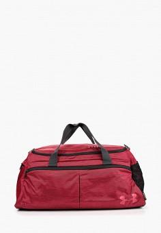 fb7600f7a318 Сумка спортивная, Under Armour, цвет  бордовый. Артикул  UN001BWDUIS6.  Аксессуары