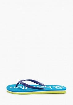 cf6861a39 Сланцы, United Colors of Benetton, цвет: синий. Артикул: UN012ABDWYQ9.  Мальчикам