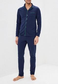 519bb40fc00af Пижама, United Colors of Benetton, цвет: синий. Артикул: UN012EMDXDU9.  Одежда