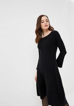 a98b9340ec5f Платье, United Colors of Benetton, цвет  черный. Артикул  UN012EWBYNF0.  Одежда