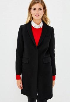 f25fc171bb51 Пальто, United Colors of Benetton, цвет  черный. Артикул  UN012EWBYOD5.  Одежда