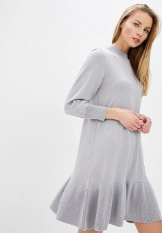 a55a4e364943 Платье, United Colors of Benetton, цвет  серый. Артикул  UN012EWCXAD0.  Одежда