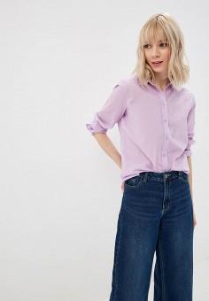 6f0a9ed2e857 Рубашка, United Colors of Benetton, цвет  фиолетовый. Артикул   UN012EWDXND7. Одежда