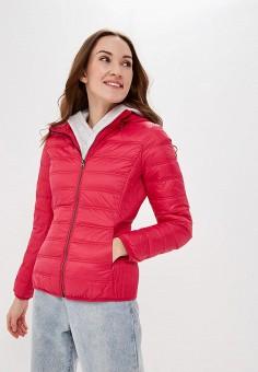 df60b0c59 Пуховик, United Colors of Benetton, цвет: розовый. Артикул: UN012EWDXOK7.  Одежда