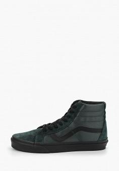 Кеды, Vans, цвет  зеленый. Артикул  VA984AUDVWY6. Обувь   Кроссовки и a8858f72cf9