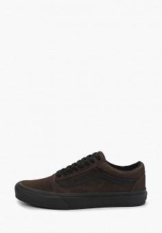 Кеды, Vans, цвет  коричневый. Артикул  VA984AUDVXA1. Обувь   Кроссовки и 9950f2fb9e0