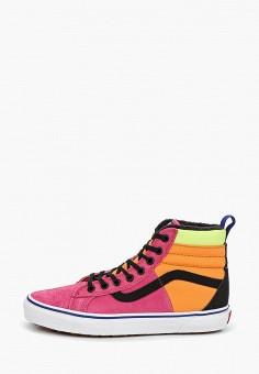 2f6c9bd37cec Кеды, Vans, цвет  мультиколор. Артикул  VA984AUDVXA6. Обувь   Кроссовки и