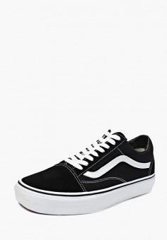 4dae8a16 Кеды, Vans, цвет: черный. Артикул: VA984AUEE904. Обувь / Кроссовки и