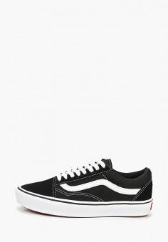a810551e Кеды, Vans, цвет: черный. Артикул: VA984AUEEWA7. Обувь / Кроссовки и