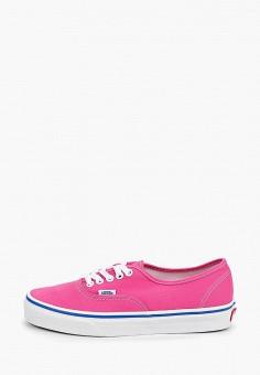 ecc9706a Кеды, Vans, цвет: розовый. Артикул: VA984AUEEWB8. Обувь / Кроссовки и