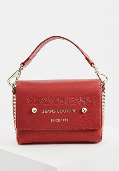 88ad49f79a94 Сумка, Versace Jeans, цвет: красный. Артикул: VE006BWBUZU9. Versace Jeans