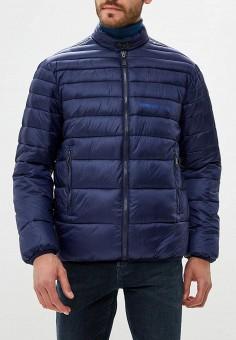 9c135ab59a8b Куртка утепленная, Versace Jeans, цвет  мультиколор, синий. Артикул   VE006EMBVAL8.