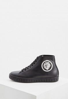 85b4ed6c Кеды, Versus Versace, цвет: черный. Артикул: VE027AMFGKY5. Обувь / Кроссовки