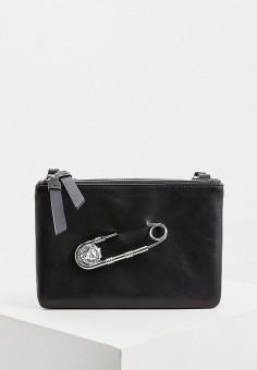 cf0ff0d3dca9 Сумка, Versus Versace, цвет: черный. Артикул: VE027BWEULB0. Premium /  Аксессуары