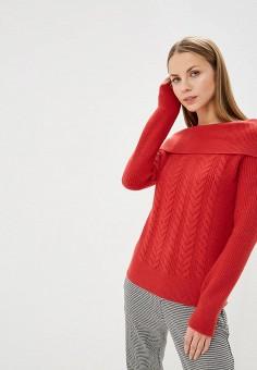 Свитер, Vero Moda, цвет  красный. Артикул  VE389EWBXTZ7. Одежда   Джемперы d497be1372c