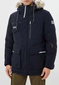 897f63e428a7 Куртка утепленная, Vizani, цвет  синий. Артикул  VI028EMCWLL5. Одежда    Верхняя