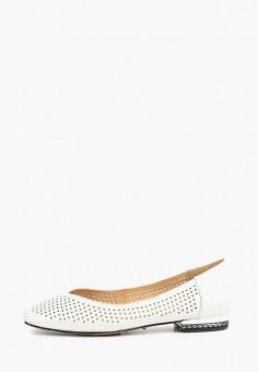 5d4a3f142 Балетки, Vitacci, цвет: белый. Артикул: VI060AWDOTL9. Обувь / Балетки