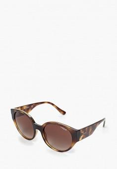 7d948e6ef1db Женские круглые очки Vogue® Eyewear — купить в интернет-магазине Ламода