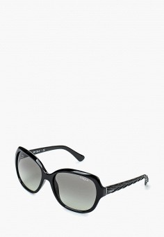Очки солнцезащитные, Vogue® Eyewear, цвет  черный. Артикул  VO007DWHGG73.  Аксессуары 8316a11bf55