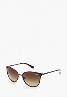 Очки солнцезащитные, Vogue® Eyewear, цвет  коричневый. Артикул   VO007DWHXG96. Vogue a997aeedc46