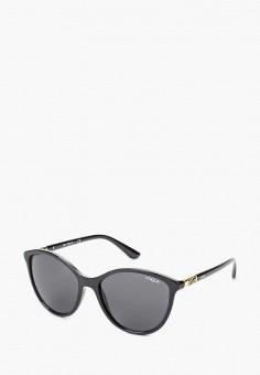 Очки солнцезащитные, Vogue® Eyewear, цвет  черный. Артикул  VO007DWTZD54.  Vogue acf6a42476e