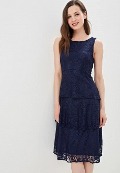 9b035980bc0f009 Платье, Wallis, цвет: синий. Артикул: WA007EWETKN4. Одежда / Платья и