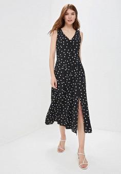 3246565a0b94 Платье, Wallis, цвет: черный. Артикул: WA007EWFHLE6. Одежда / Одежда больших