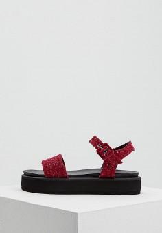 b04fd89be5b6 Босоножки, Weekend Max Mara, цвет  бордовый. Артикул  WE017AWADSZ3. Обувь