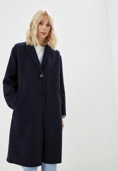 fb5130e8857b Пальто, Weekend Max Mara, цвет  синий. Артикул  WE017EWDQMP5. Одежда