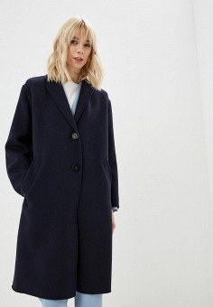 60da751b0e30 Пальто, Weekend Max Mara, цвет  синий. Артикул  WE017EWDQMP5. Одежда