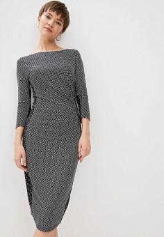 21c42bb1c524819 Платье, Weekend Max Mara, цвет: черный. Артикул: WE017EWDQMR6. Одежда /