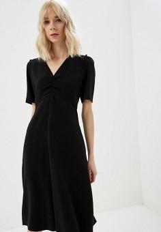 1bae00f268c0749 Платье, Weekend Max Mara, цвет: черный. Артикул: WE017EWDQMR8. Одежда /