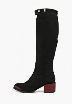 Сапоги, Wojas, цвет  черный. Артикул  WO009AWCESW4. Обувь   Сапоги   87fda372f00