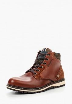 c7ea51b8e Ботинки, Wrangler, цвет: коричневый. Артикул: WR224AMLIS08. Обувь / Ботинки