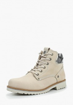 Ботинки, Wrangler, цвет  бежевый. Артикул  WR224AWCPMH0. Обувь   Ботинки   6a1e7371b1b