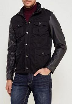 956a30686f65697 Куртка утепленная, Young & Rich, цвет: черный. Артикул: YO009EMABKS1.