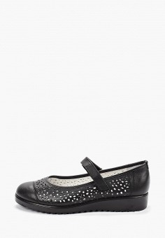 5e747bead Туфли, Юничел, цвет: черный. Артикул: YU003AGEFKY5. Девочкам / Обувь /