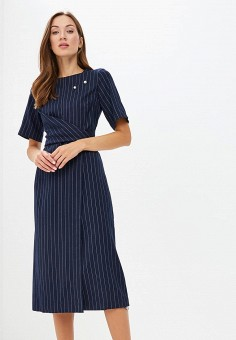 150579a566aa Платье, Zarina, цвет  синий. Артикул  ZA004EWBUEA8. Одежда   Платья и