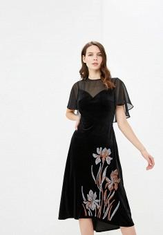 5b49467ad2b3 Платье, Zarina, цвет  черный. Артикул  ZA004EWCSSM3. Одежда   Платья и