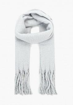 Палантин, Zarina, цвет  серый. Артикул  ZA004GWCXVI2. Аксессуары   Платки и fbc59231430
