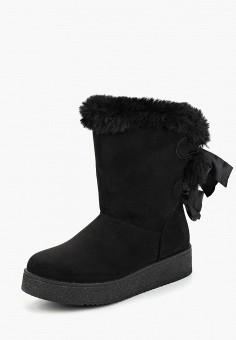 b3dafaeee0a9 Полусапоги, Zona3, цвет  черный. Артикул  ZO004AWDADH2. Обувь   Сапоги