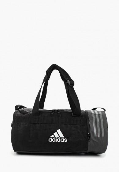 bb3635ffca85 Сумка спортивная adidas CVRT 3S DUF S купить за 3 490 руб AD002BUALSV0 в  интернет-магазине Lamoda.ru