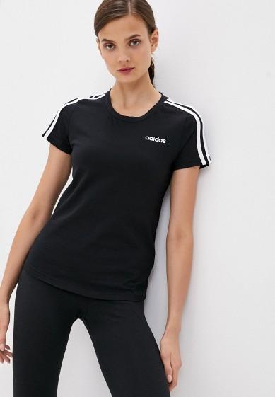 Футболка adidas W E 3S SLIM TEE за 1 691 ₽. в интернет-магазине Lamoda.ru