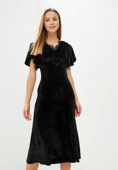 Платье, adL, цвет: черный. Артикул: AD005EWDHZN6. Одежда / Платья и сарафаны