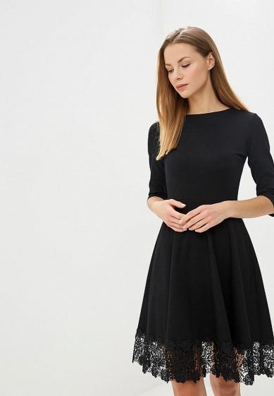 Платье, adL, цвет: черный. Артикул: AD005EWDHZQ0. Одежда / Платья и сарафаны